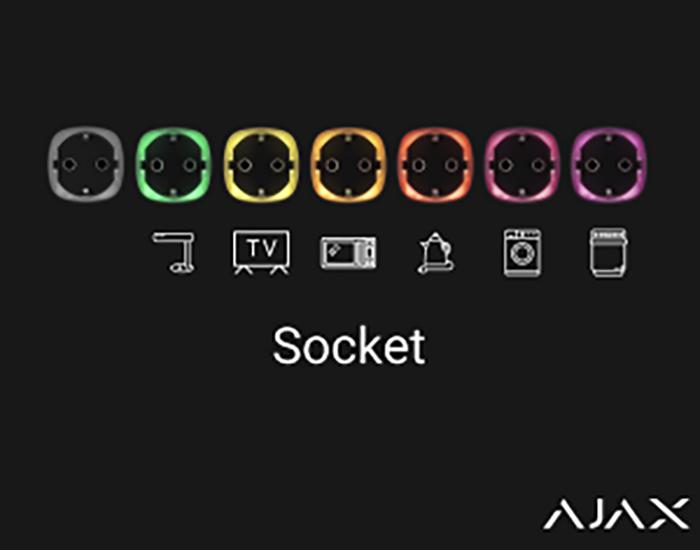 AJAX smart socket product