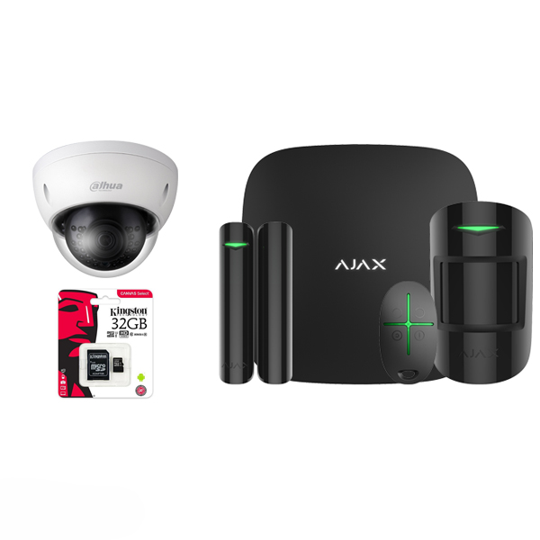 AJAX KIT MET CAMERA EN 32GB SD