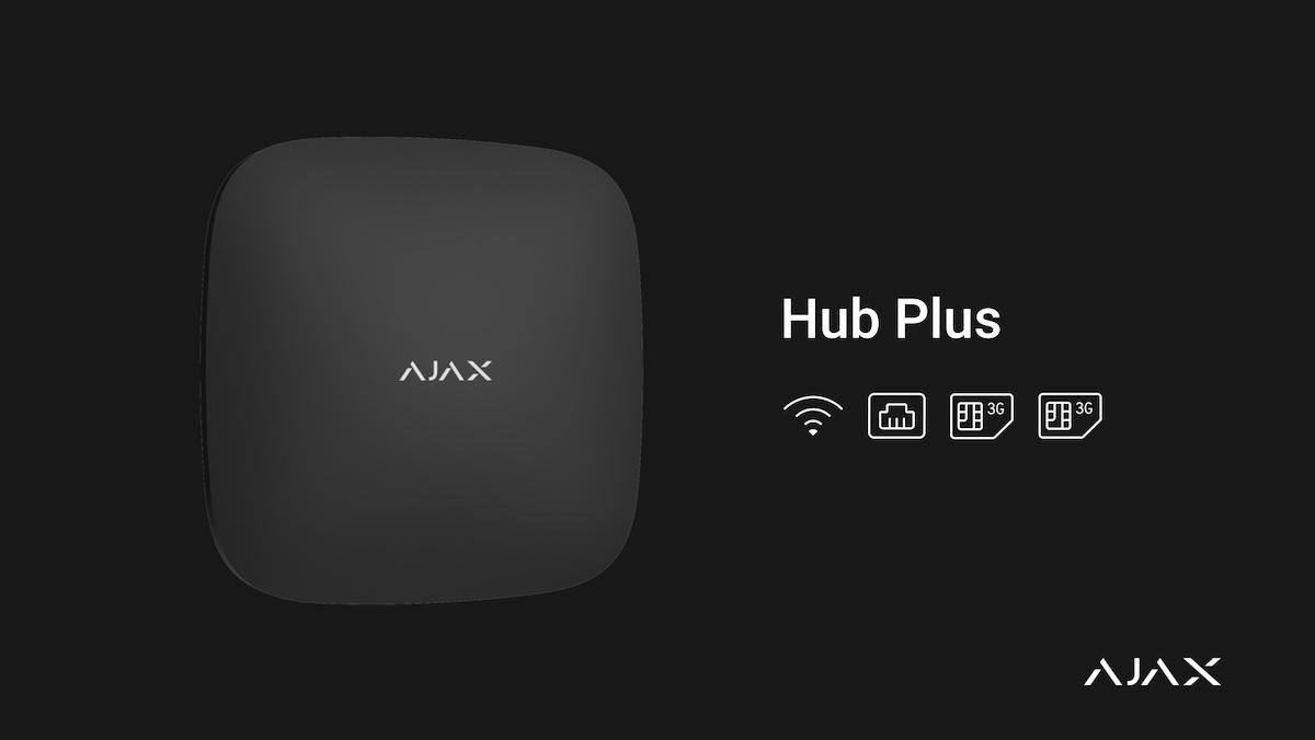 Ajax hub plus alarmsysteem
