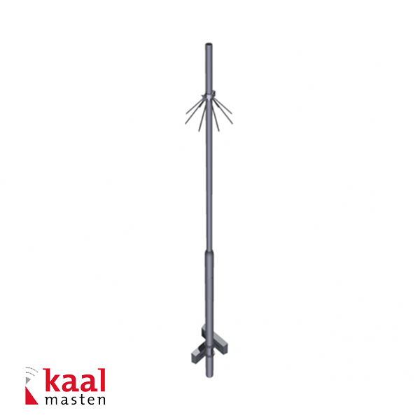 Kaal Camera mast 6m